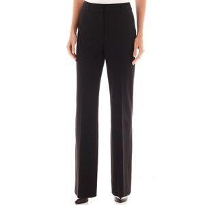 Liz Claiborne Sophie Pants Trousers Slacks Black
